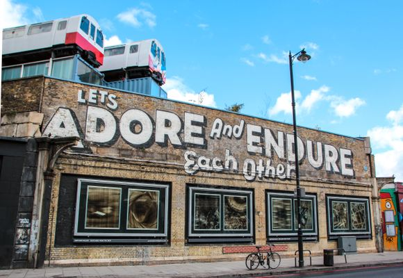La neste London-tur gå til Shoreditch