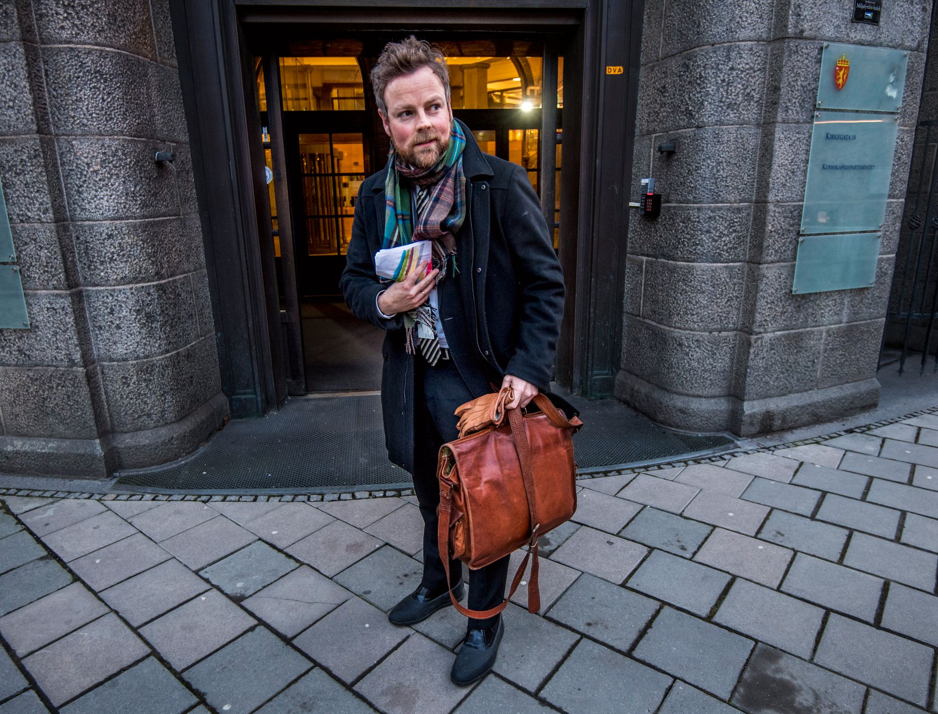 FORVENTER: Næringsminister Torbjørn Røe Isaksen har forventninger om at selskapene arbeider hardere for at ledergruppene blir mer mangfoldige.