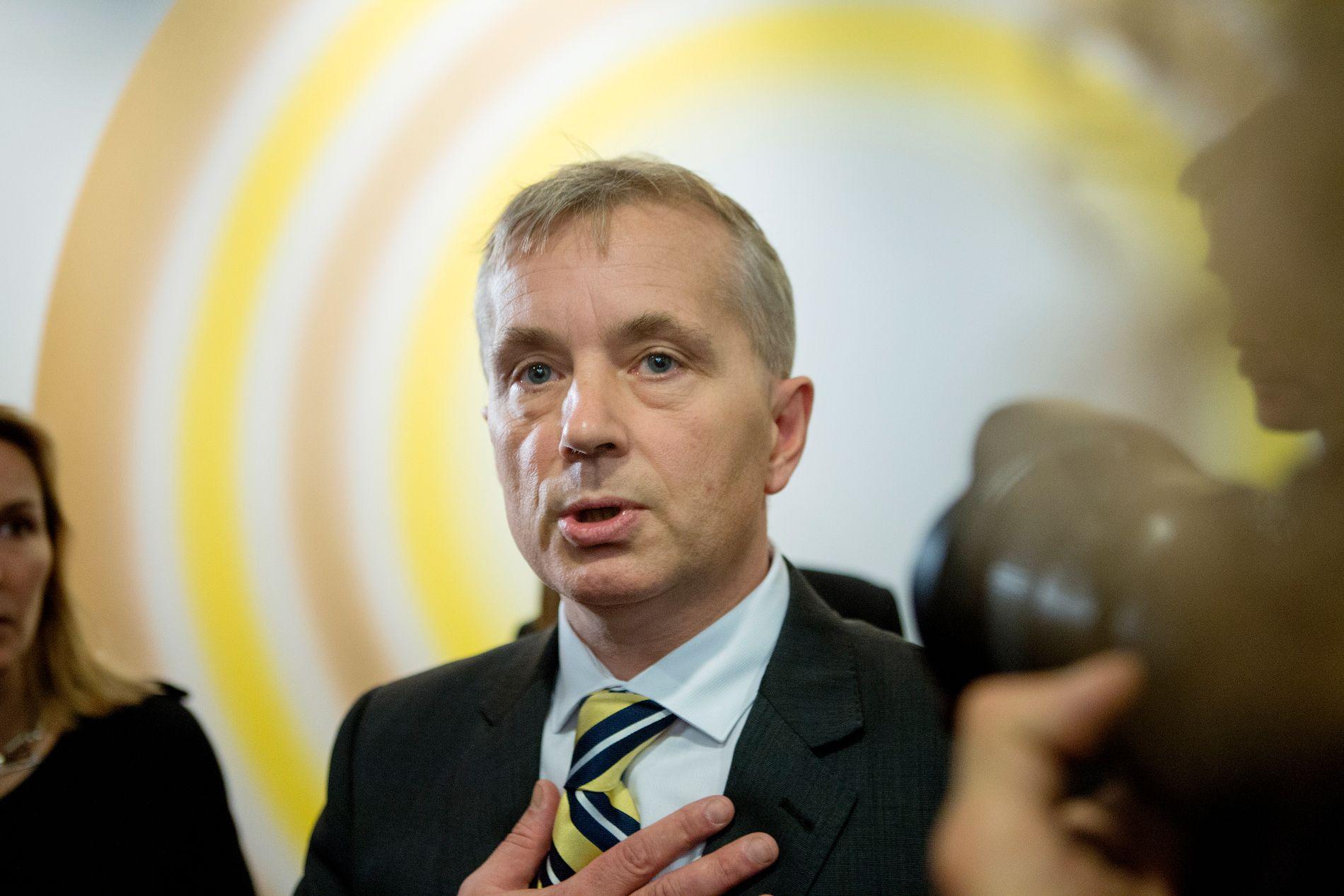 Ap-politiker og tidligere justisminister Knut Storberget