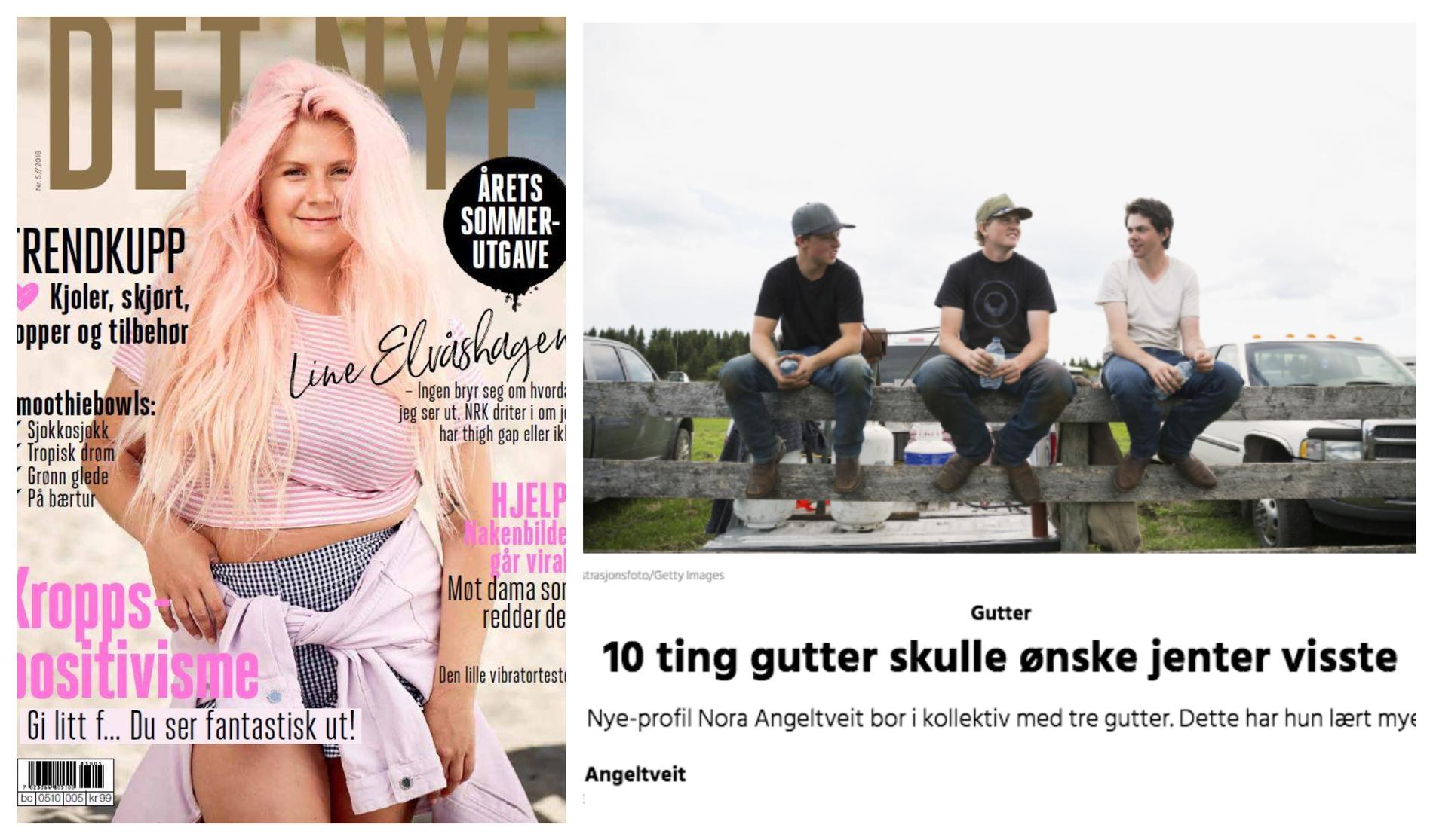 LEI AV SÅNT: - Nå er detnokmed glansede magasiner og «liksom velmenende» skribenter som skal fortelle jenter om alt de bør få til bedre, skriver Sandbakk.