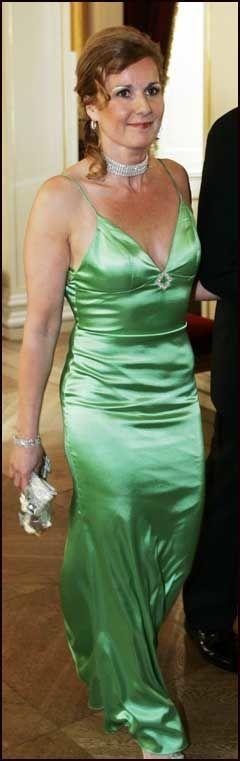5b9bda9c KJOLEFIN: Karita er kjent for sine mange vakre kjoler. Foto: Scanpix