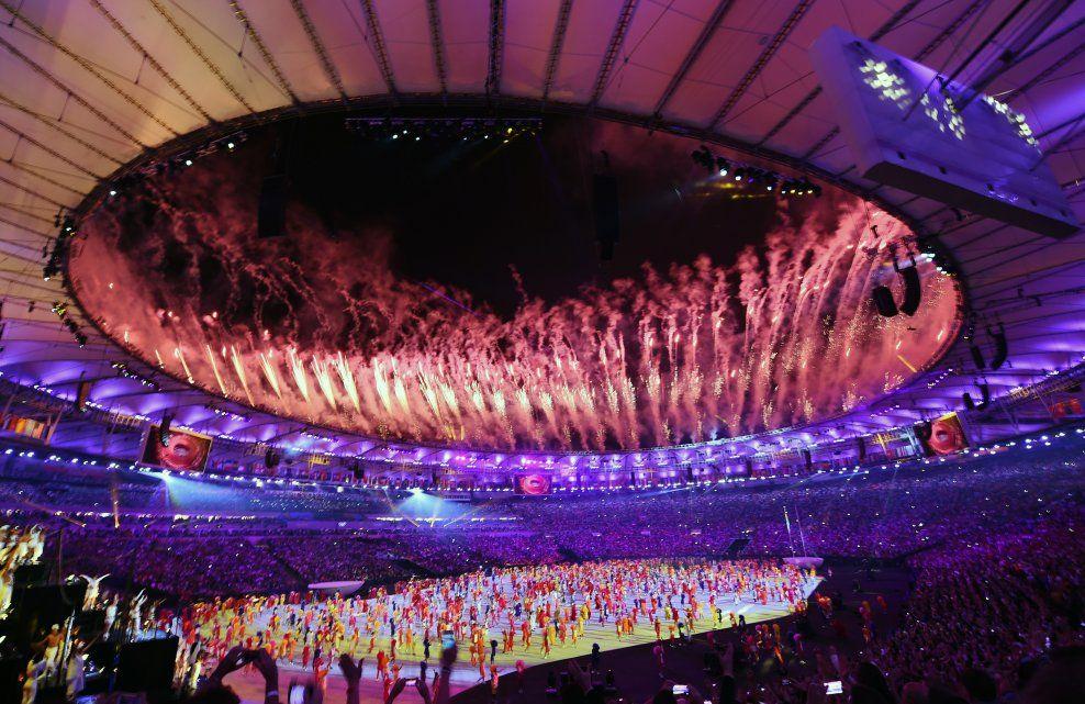 KNUSENDE KRITIKK: Alt gikk slett ikke etter planen under Rio-OL hva gjelder antidopingarbeidet. Bildet er fra åpningsseremonien på Maracana 5. august.