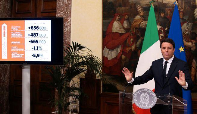 VÆRVARSEL: Den politiske situasjonen i Italia kan si noe om temperatur og hvor vinden blåser i resten av Europa. Hva som skjer med statsminister Matteo Renzi i folkeavstemningen 4. desember anses som en pekepinn på utfallet av andre europeiske valg.
