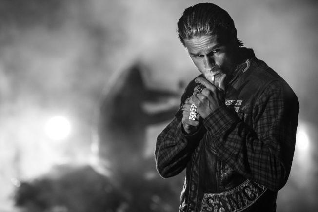SEERMAGNET: Charlie Hunnam spiller hovedrollen Jackson «Jax» Teller i «Sons of Anarchy».