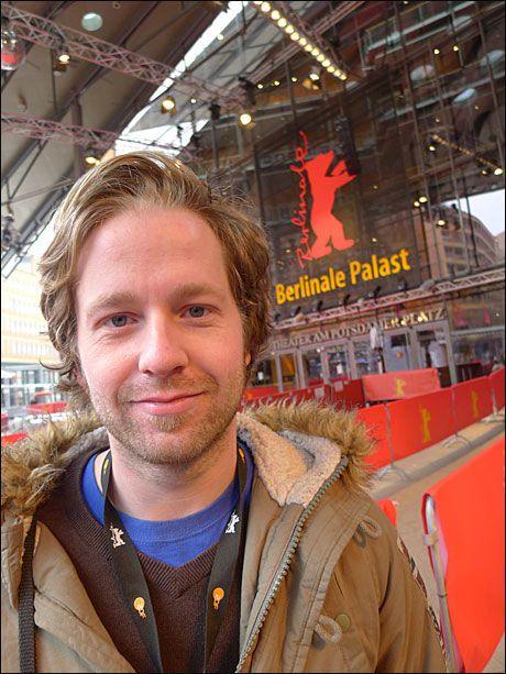 """VÅR MANN: Torfinn Iversen (27) er eneste regissør med en helnorsk film i Berlin, kortfilmen """"Levis hest"""". Foto: Jon Selås"""