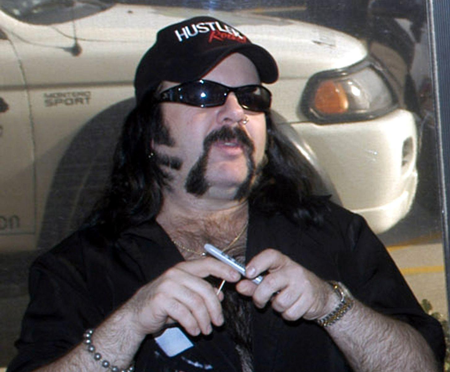 DØD: Her er Vinnie Paul i Texas på et bilde fra 2004.