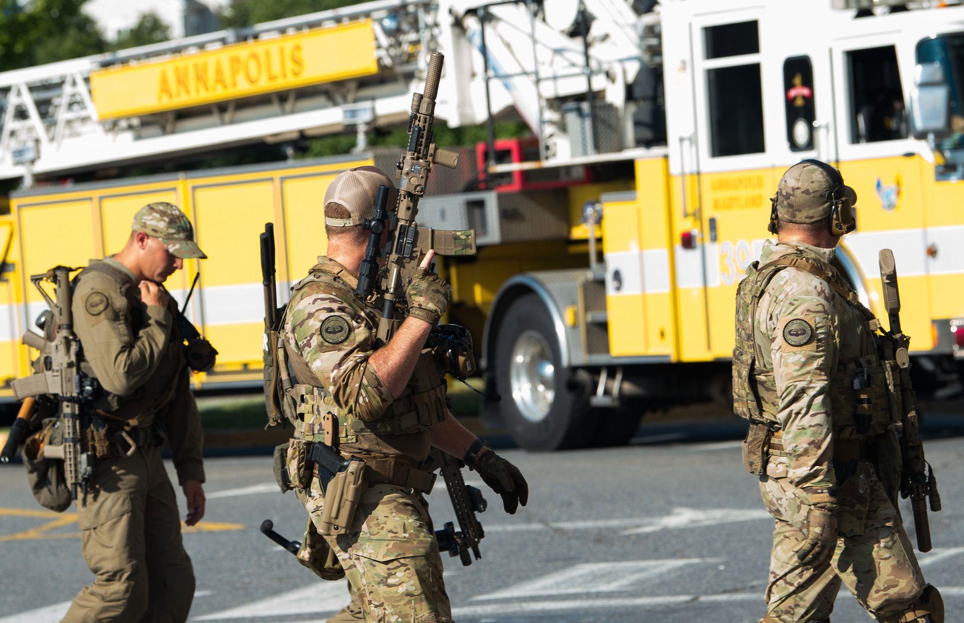 HADDE FÅTT TRUSLER: På en pressekonferanse ble det opplyst at den rammede avisen hadde mottatt trusler i forkant av angrepet.