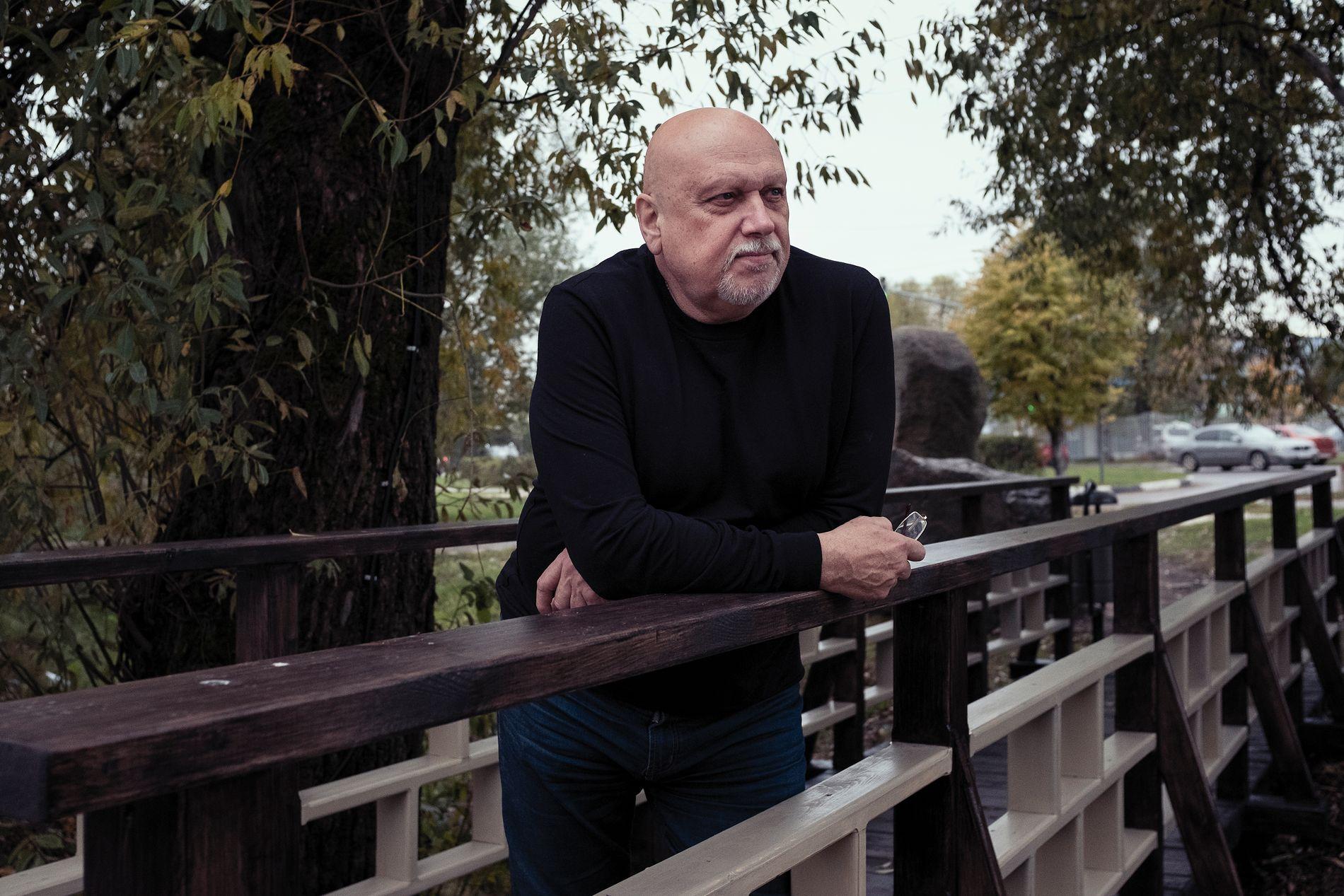 SPIONSJEF: Tidligere generalmajor i KGB og FSB, Aleksandr Mikhailov, mener etterretningen i NATO-land, og særlig Norge, holder et pinlig lavt nivå.