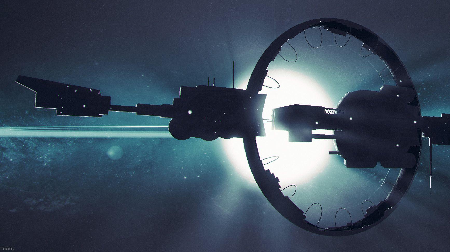 KJØPTE ROMSKIP: Dette romskipet ble kjøpt av en spiller for rundt 11.700 dollar, tilsvarende 94.212 kroner. Romskipet kan brukes i spillet Parsec Frontiers som er under utvikling av det norske selskapet Artplant.