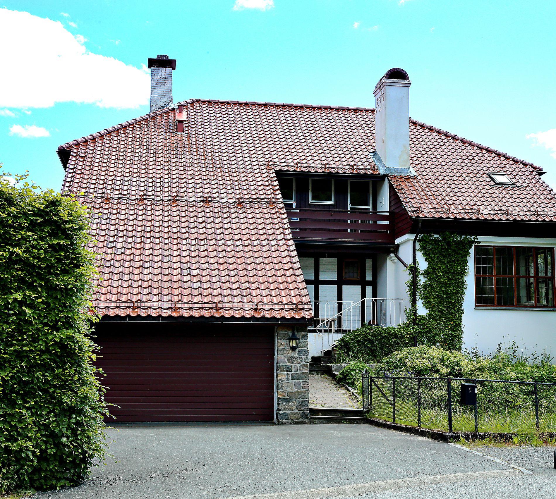 CASA KYGO: Kygos bolig i Bønes i Bergen. Foto: HALLGEIR VÅGENES