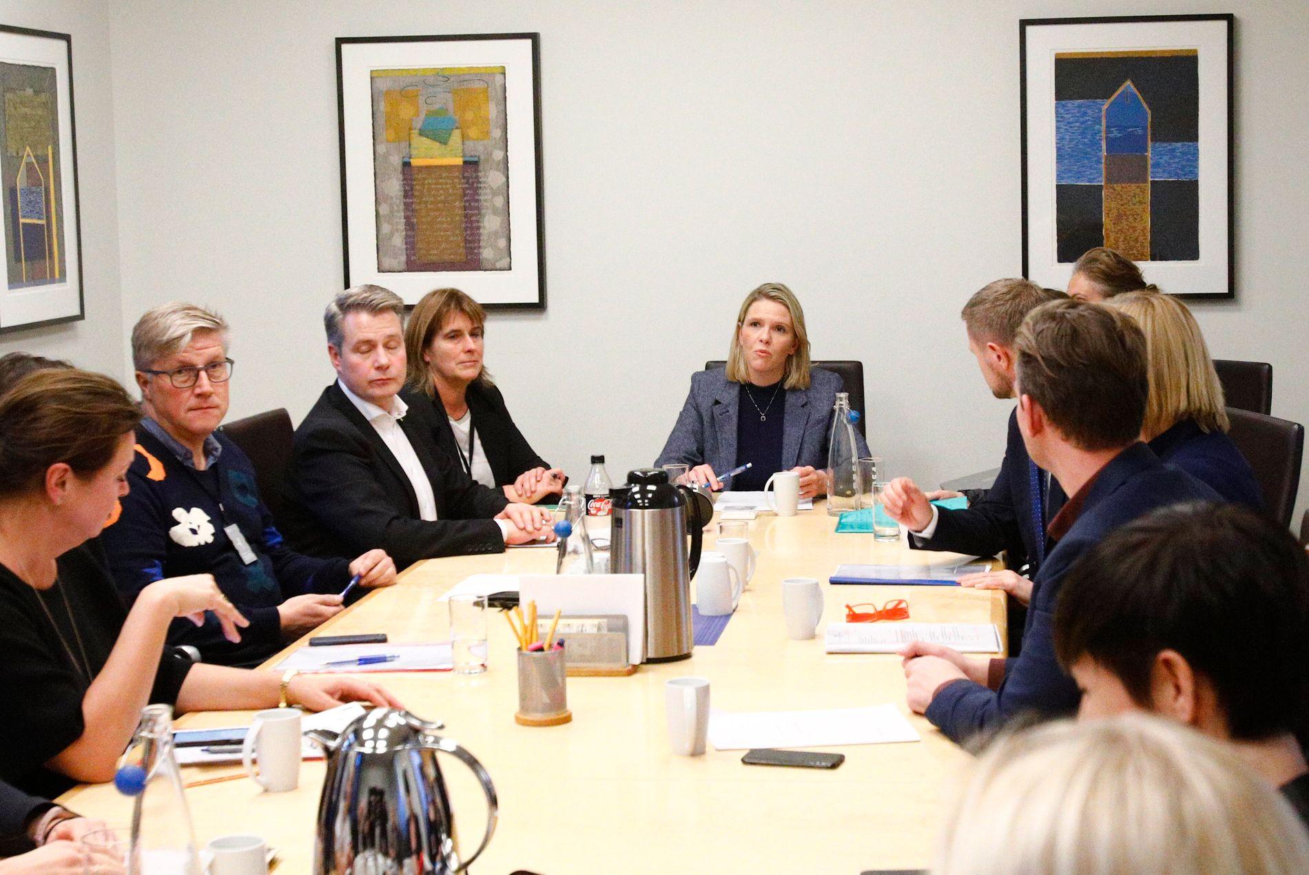 HASTEMØTE OM KORANSKOLER: Flere statsråder møttes torsdag for å diskutere barn som sendes til koranskoler i Somalia og Kenya.