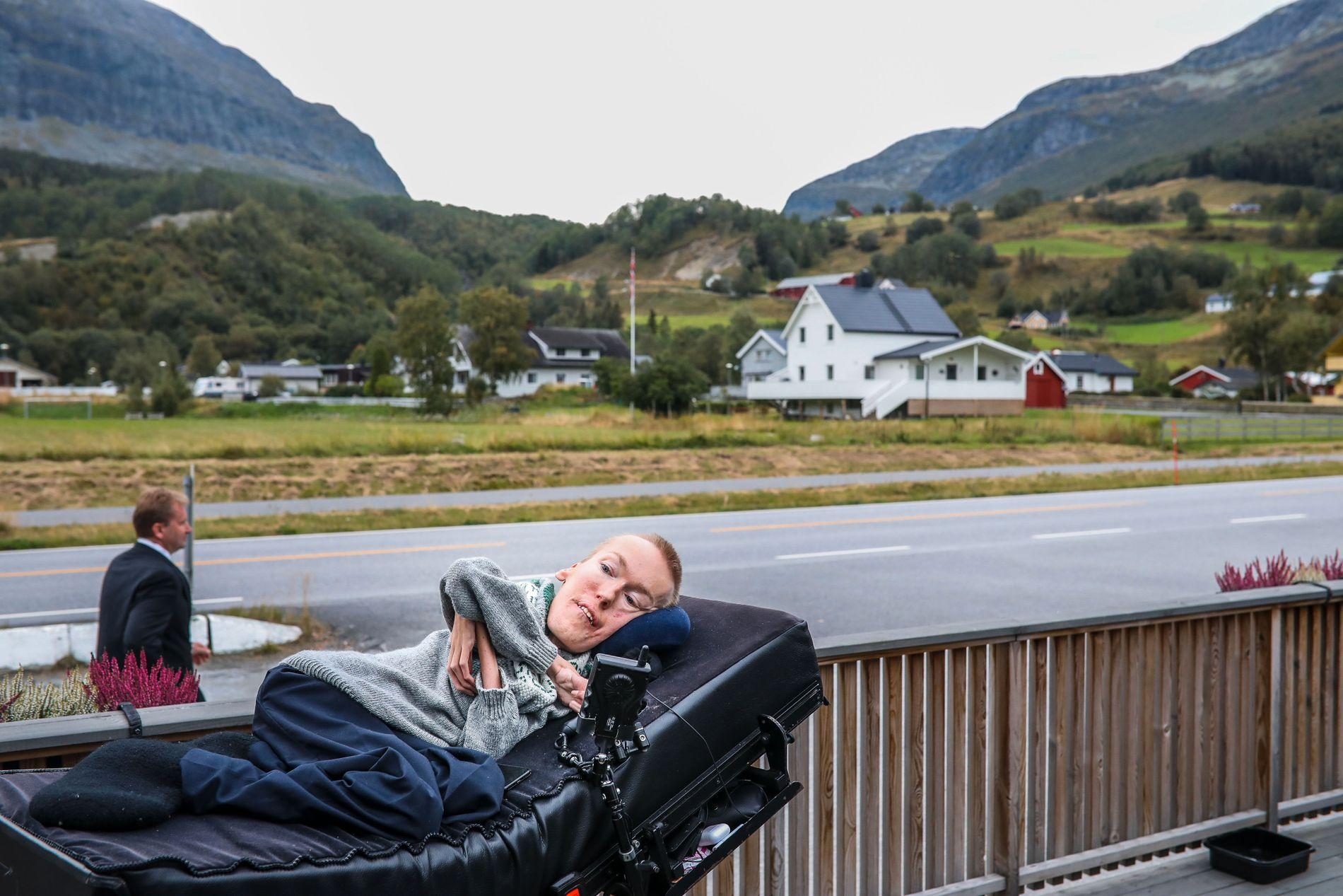 ORDFØRERKANDIDAT: Diagnosen til Torstein Lerhol har bundet ham til rullestolen hele livet og langsomt tært på kroppen hans.