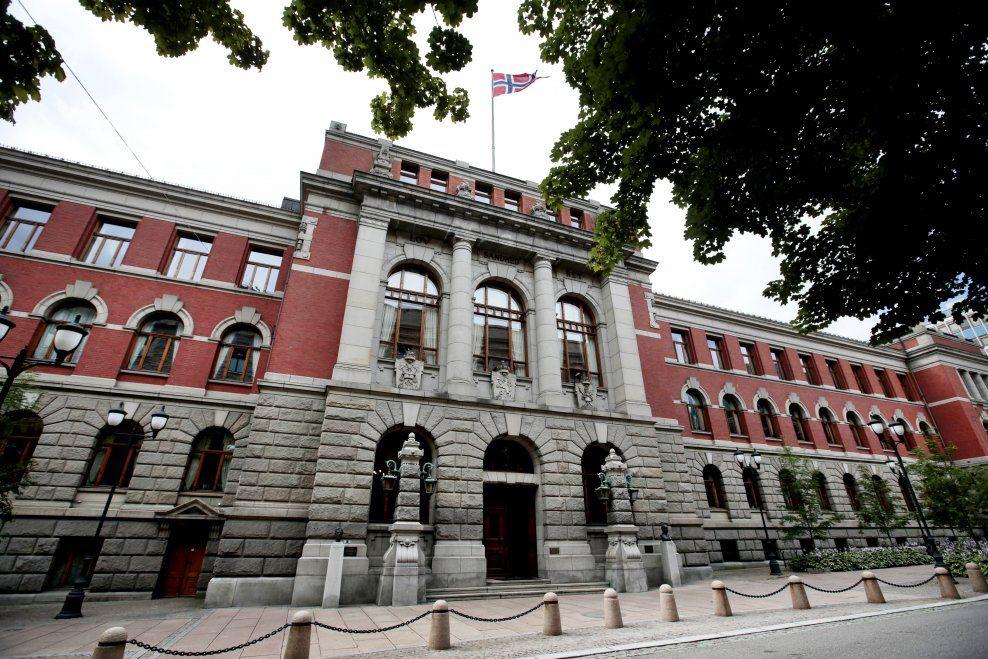 DØMT HER: Larvik tingrett dømte i august i fjor mannen til fengsel i 21 dager. Dommen ble anket til Agder lagmannsrett som kom fram til samme straff, før saken endte i Høyesterett.