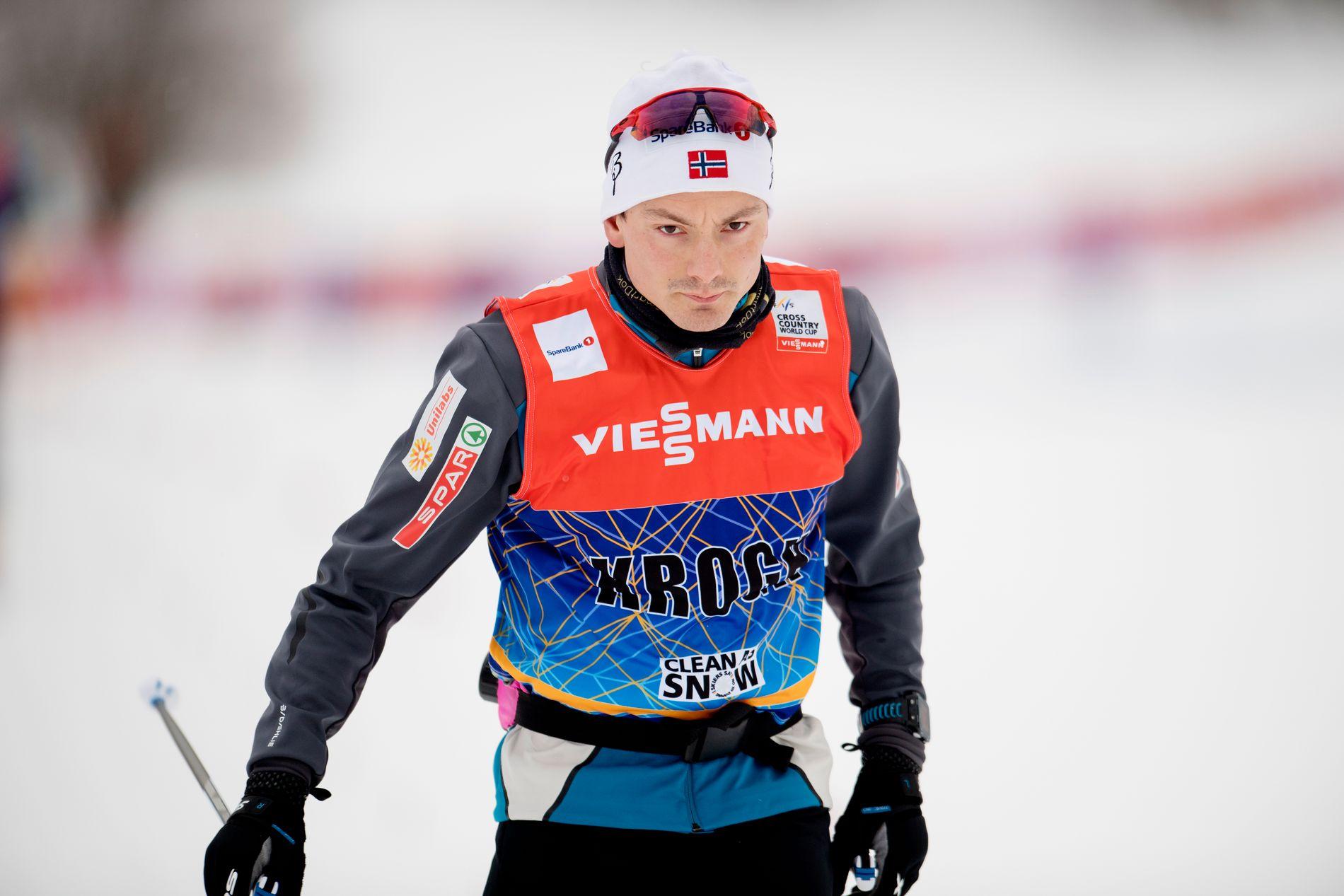 TUNG SESONG: Finn Hågen Krogh føler nærmest han har kastet bort ett år av karrieren etter 2017/18-sesongen.