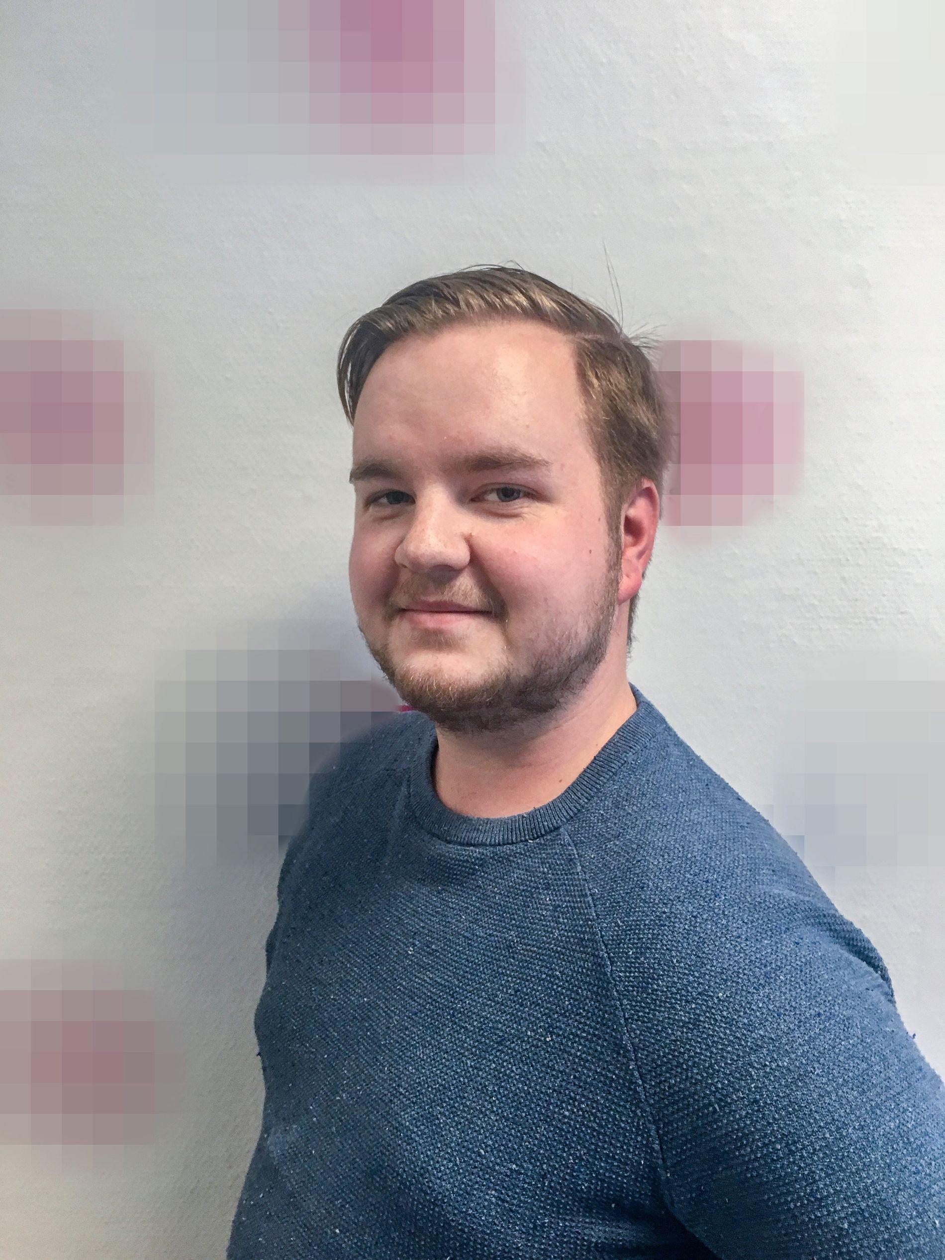 DREPT: Heikki Bjørklund Paltto (24) ble drept i leiligheten sin på Majorstuen i Oslo. Makaveli Lindén er siktet og internasjonalt etterlyst for drapet.