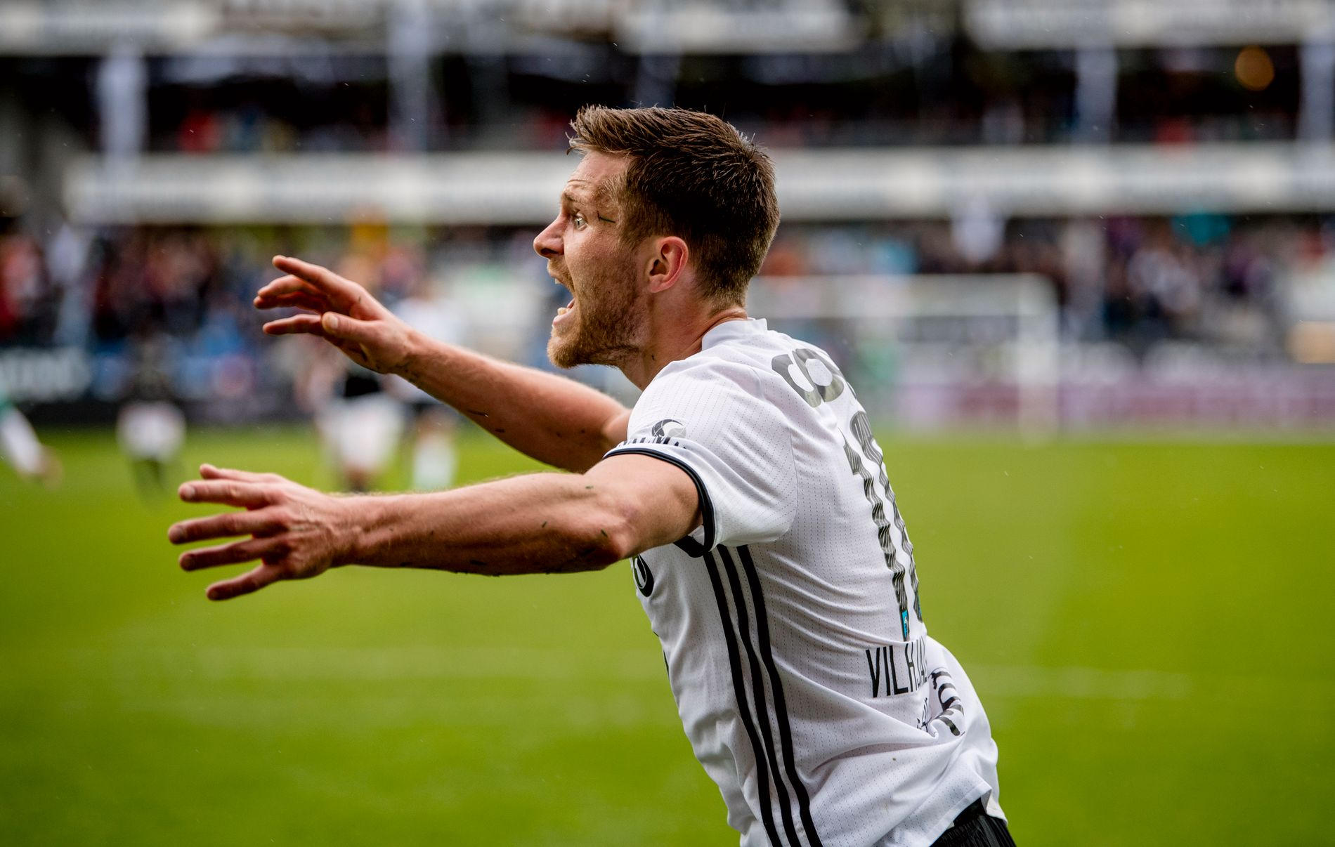 Matthías Vilhjálmsson har vært sterkt delaktig i Rosenborgs triumfuke. Det ønsker han å fortsette å være.
