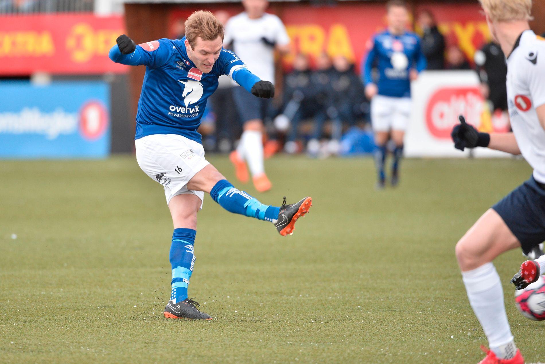 Kristoffer Løkberg ga Ranheim en drømmestart på 2018-sesongen.