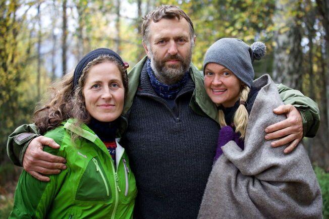 KUPPET TV-HELGEN: Magnhild Vik, Olav Harald Ulstein og Charlotte Thøgersen i «Farmen»-finalen var de som klarte å samle 53,1 prosent av seerne.