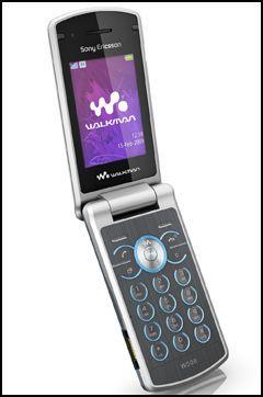 W508 er en klapptelefon som kan styres med risting. Foto: Sony Ericsson