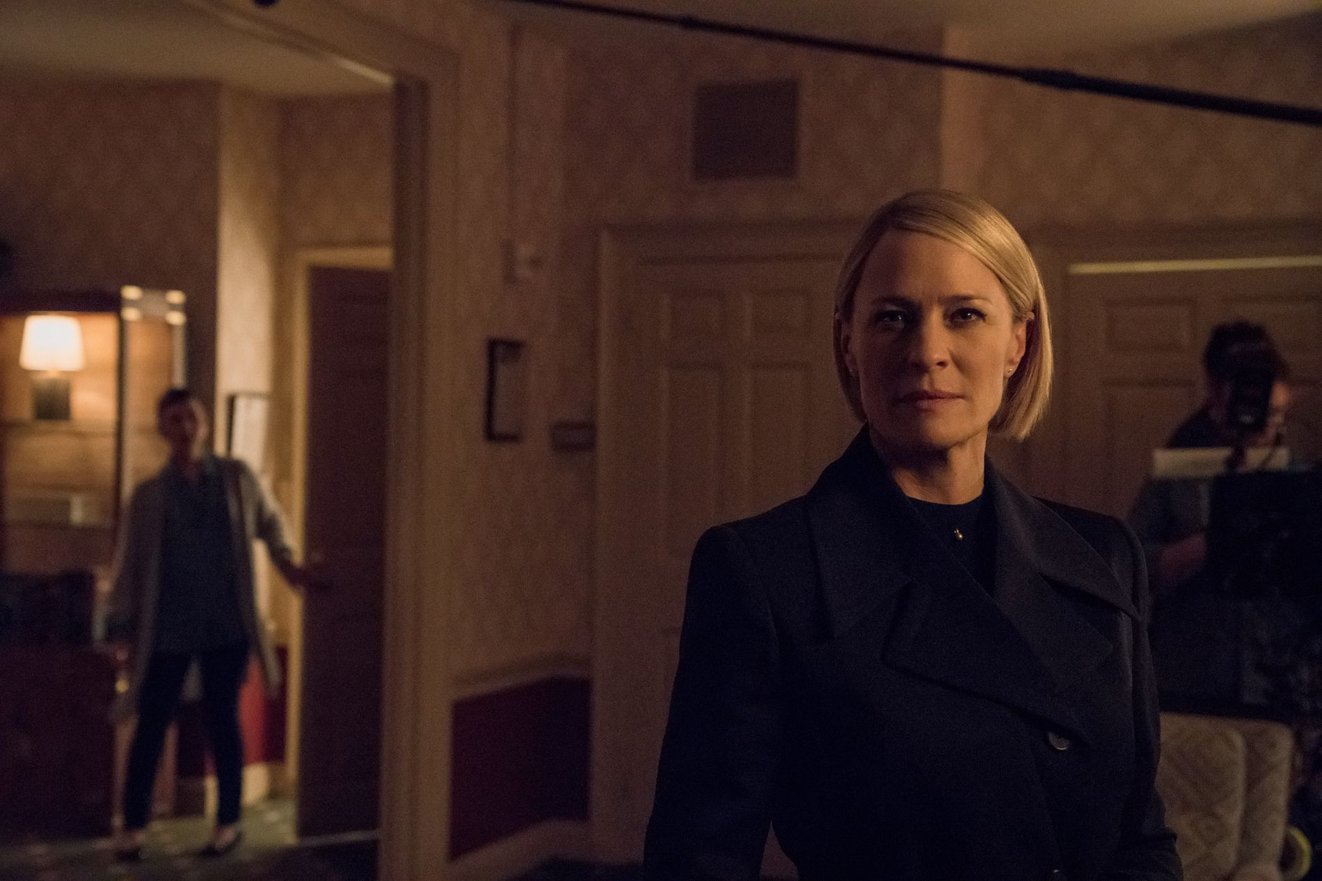 OVERTAR HOVEDROLLEN: Robin Wright i rollen som Claire Underwood i «House of Cards».