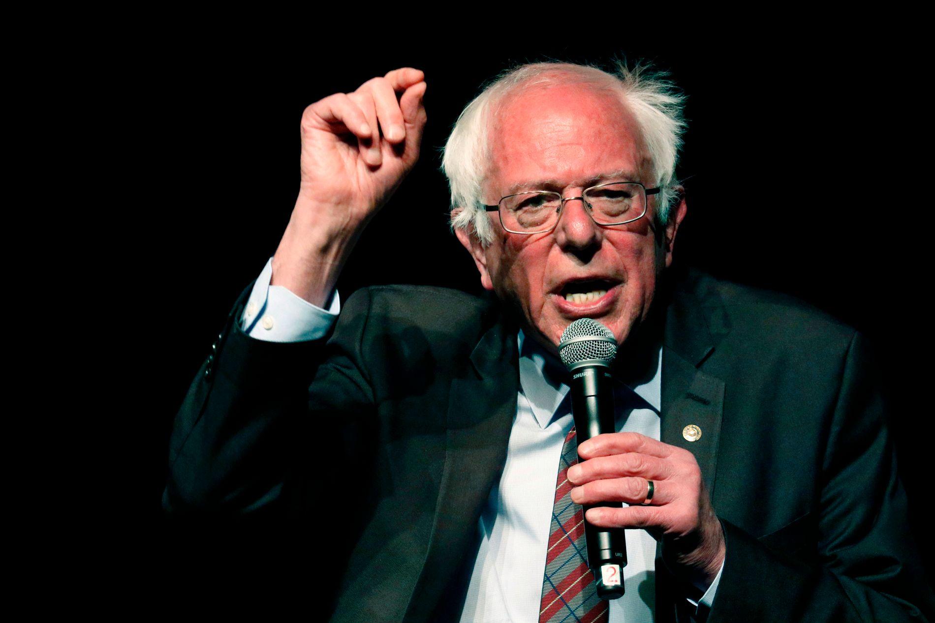 NY SJANSE?: Bernie Sanders' kampanje i 2016 vekket en venstredreining i Det demokratiske partiet.