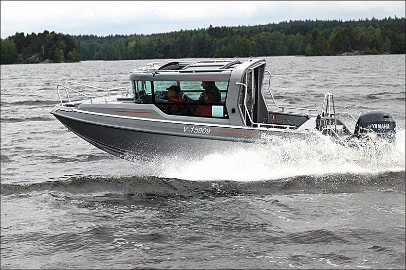 Oppsiktsvekkende Ni bra båter for «norsk sommer» BA-73