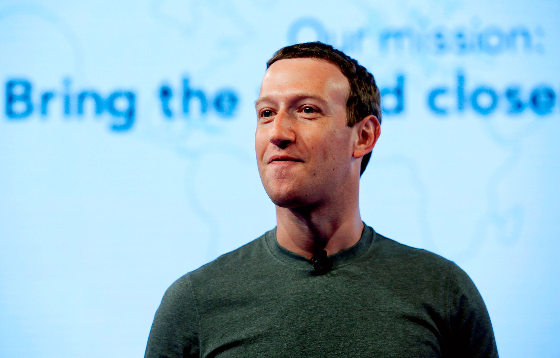 GRÜNDER: Grunnleggeren av Facebook, Mark Zuckerberg, er i hardt vær etter skandalen.