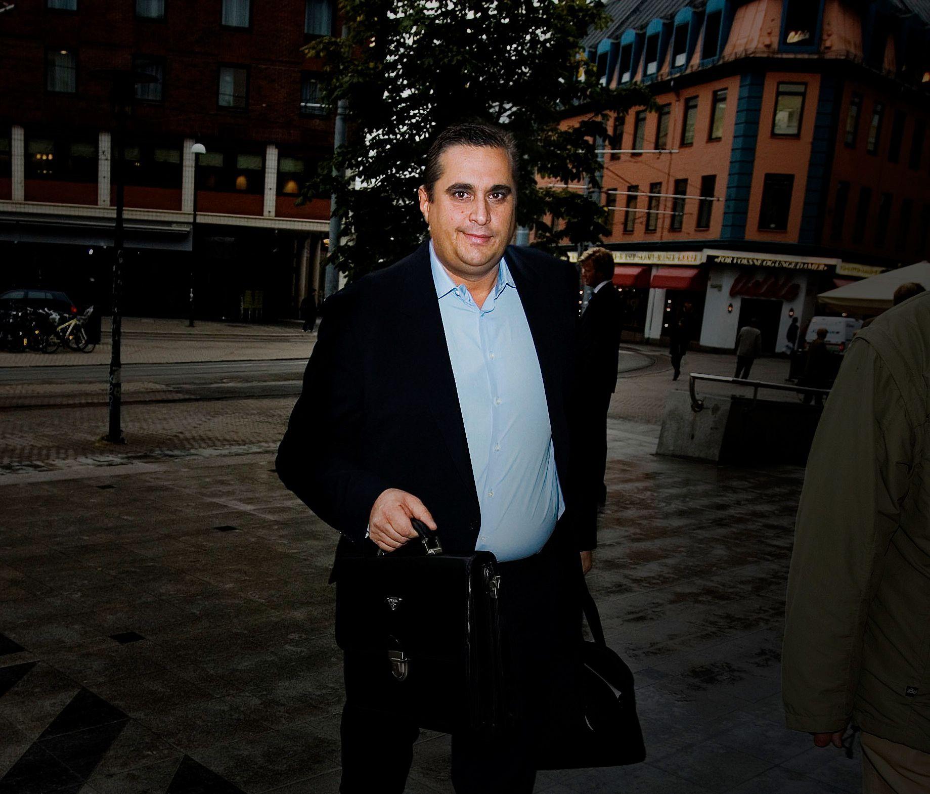 TILTALT: Finansakrobaten Christer Tromsdal (50) nekter straffskyld for å ha hyret inn torpedoer for å skade en meddommer i en straffesak mot seg selv i 2012.