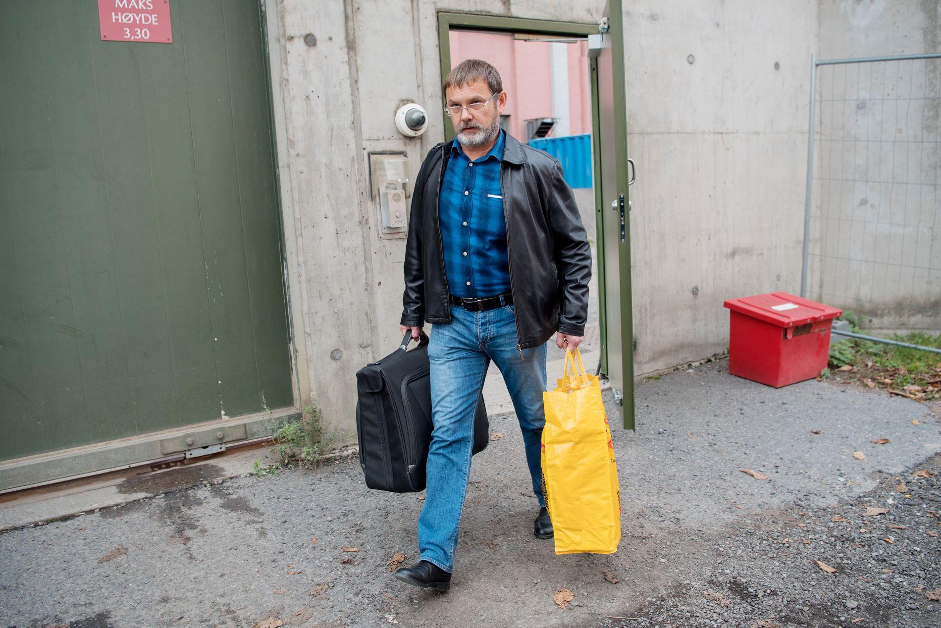 LØSLATT: 19. oktober slapp Mikhail Botsjkarjov ut av fengselet i Oslo.