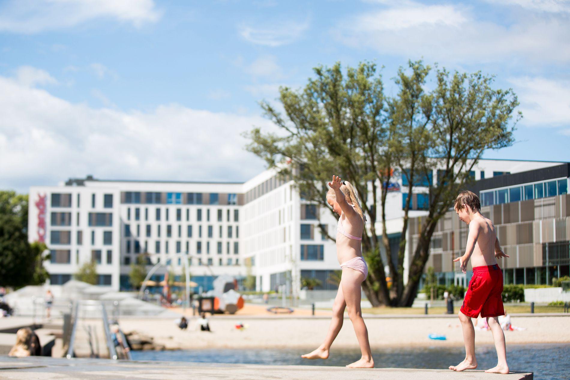 FERIEFAVORITT: Sørlandet er en soleklar feriedestinasjon for mange nordmenn om sommeren.