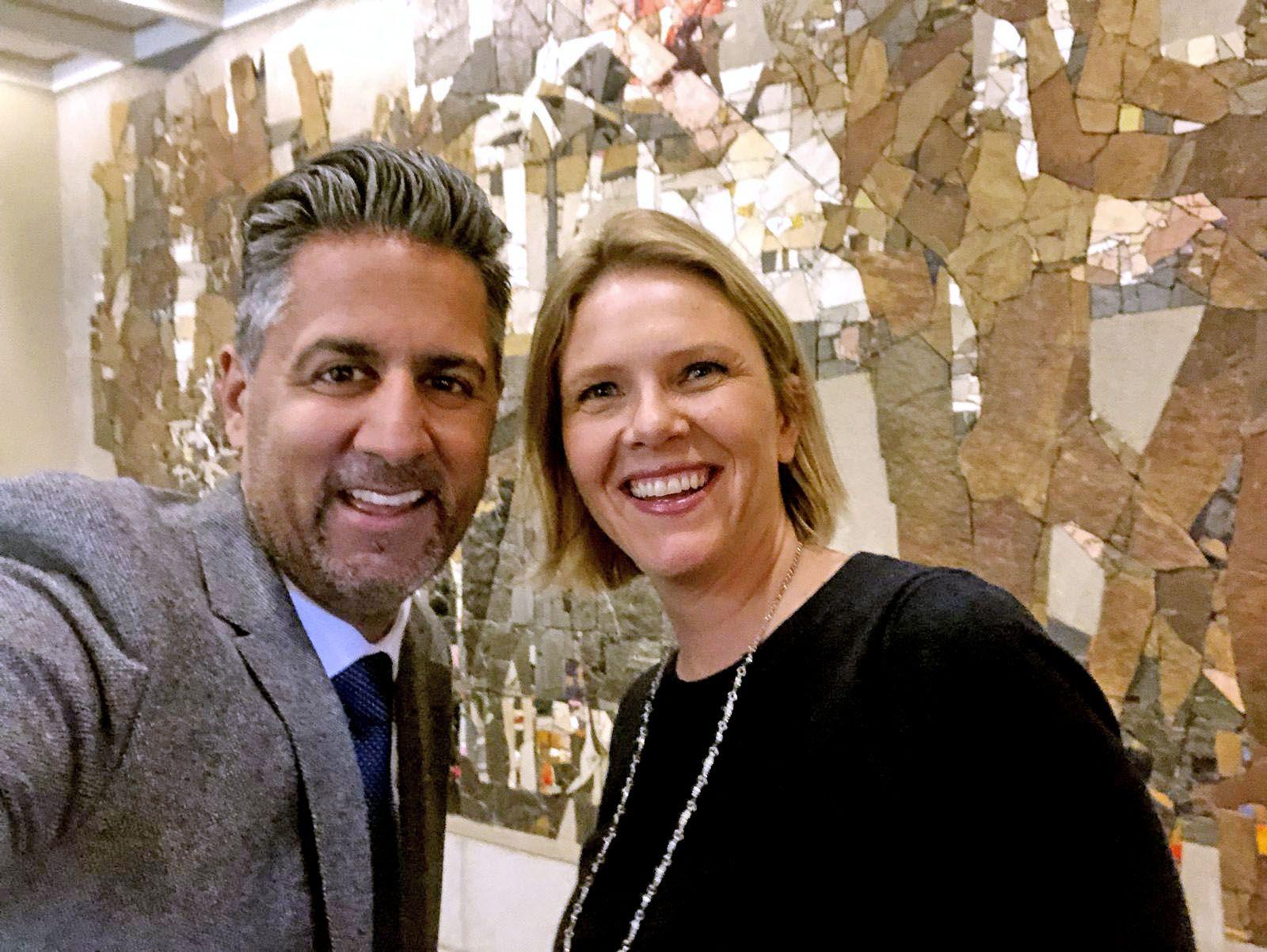 SAMMEN FOR Å REDDE KVINNE: Abid Raja og Sylvi Listhaug går sammen for å redde en pakistansk kvinne til Norge.