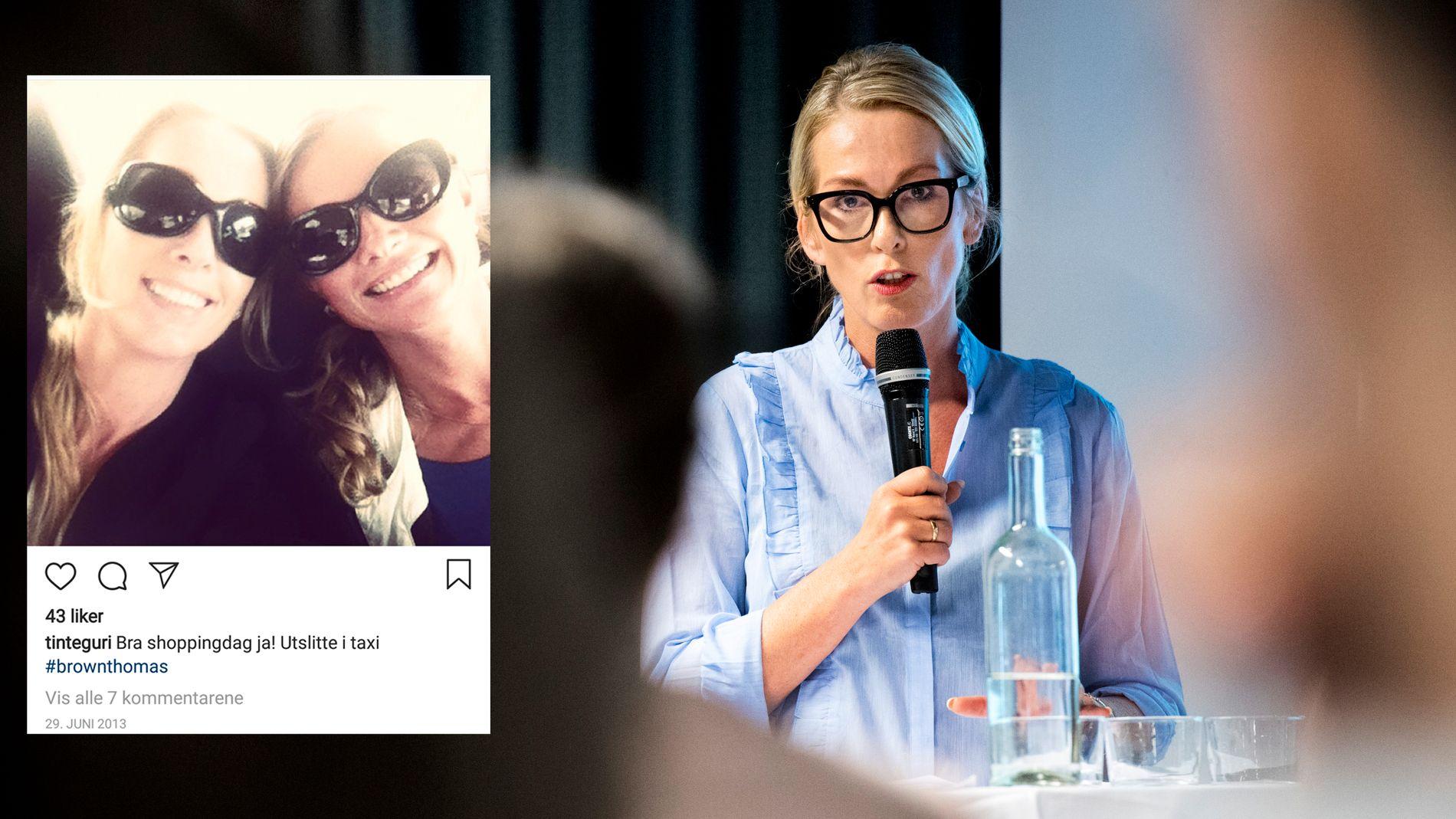 ANSATTE VENNINNEN: Yvonne Fosser (innfelt, til høyre) fikk jobben som HR-direktør i Innovasjon Norge av Anita Krohn Traaseth i 2015.