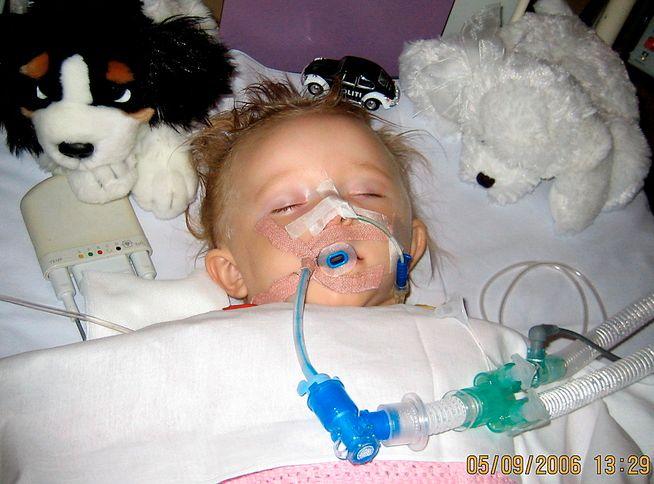 OMFATTENDE SKADER: Martine var innlagt på sykehus i fire dager, før hun til slutt døde av skadene fredag 8. september 2006.