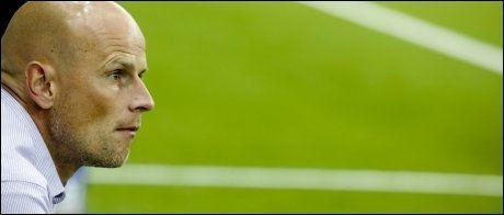 FÅR KRITIKK: FCK-trener Ståle Solbakken. Foto: Scanpix