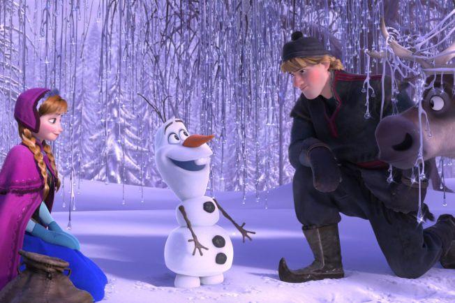 POPULÆR GJENG: Anna, Olaf, Kristoff og Sven har opplevd eventyrlig suksess - både på kinolærretet og i musikkverden.