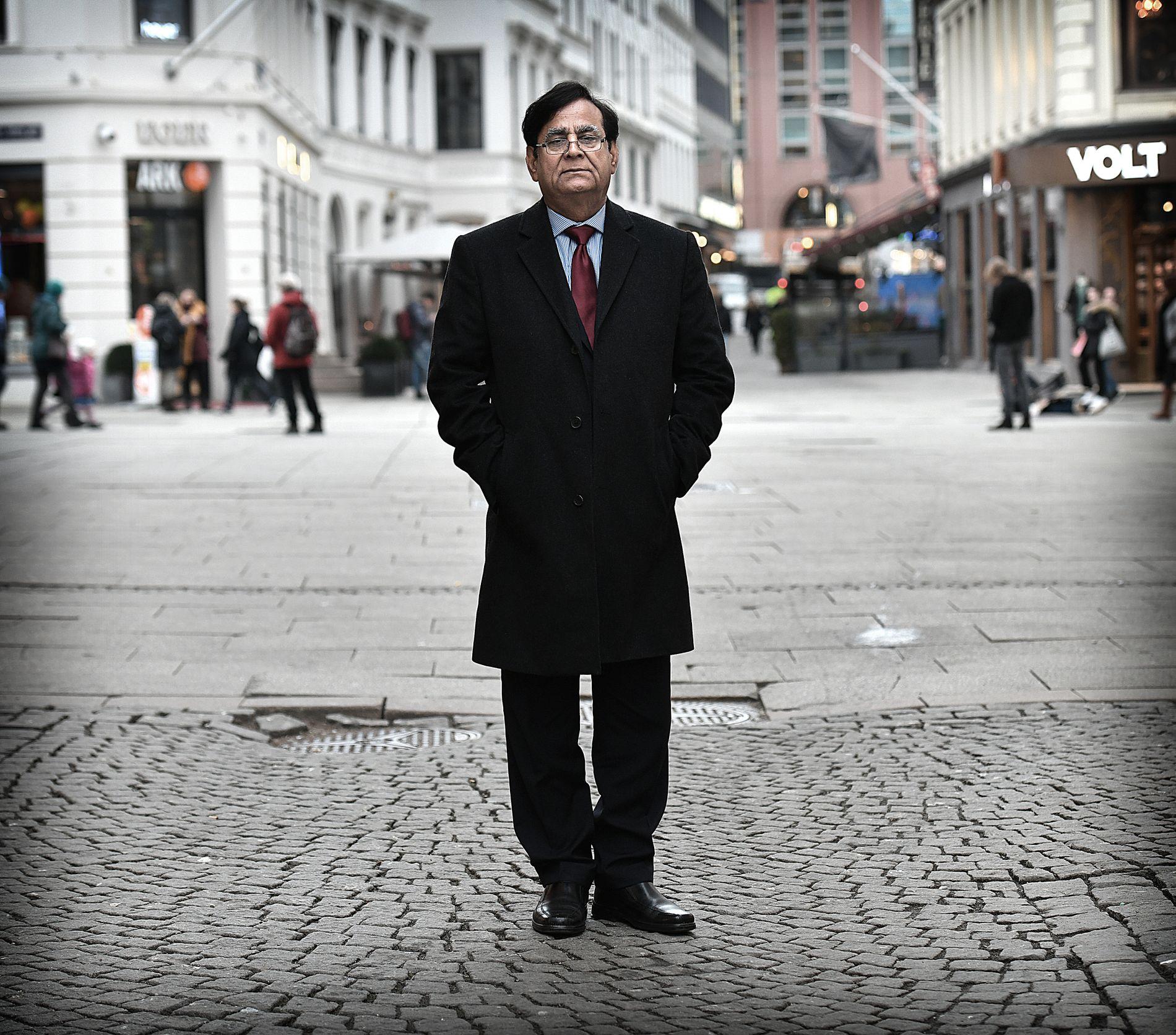 I OSLO: Den pakistanske advokaten Saif-ul Mulook (63) besøkte Oslo i mars, etter invitasjon fra misjons- og menneskerettighetsorganisasjonen Stefanusalliansen.