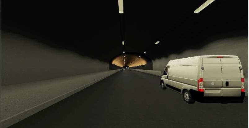 DYP OG LANG: Den planlagte tunnelen under Romsdalsfjorden vil gå ned til 360 meters dyp og være 16 km lang.