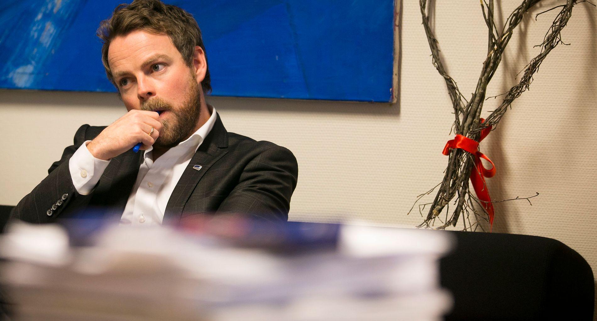 RÅDGIVER: Kunnskapsminister Torbjørn Røe Isaksen, som selv er utdannet statsviter, anbefaler læreryrket til søkere som er i tvil.