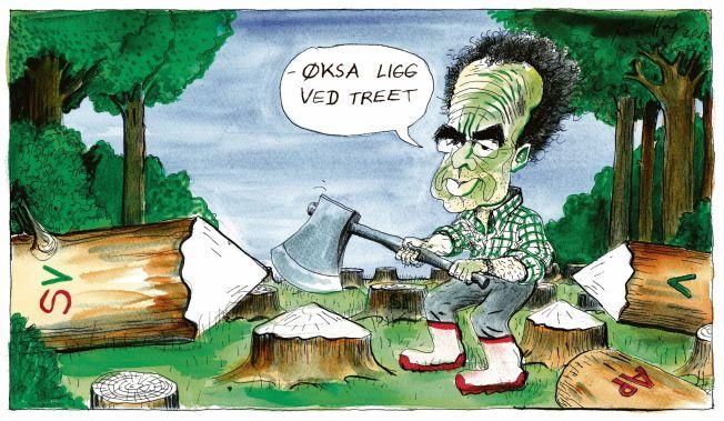 IDEER OG LØSNINGER: – Det tydeligste problemet med mitt tidligere parti SV, slik jeg ser det, er at det mangler et felles mål. De Grønne, derimot, tilbyr både utopier og konservatisme, både store ideer, og praktiske løsninger.