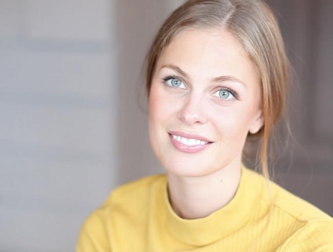 SLIK SER HUN UT EGENTLIG: Ida Ursin-Holm er nyutdannet med bachelor fra teaterhøyskolen i Nord-Trøndelag i mai i fjor og fikk sin første store rolle rett etterpå.