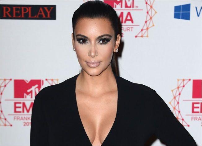 ETTBARNSMOR: Kim Kardashian fikk datteren North (1) med Kanye West i fjor.