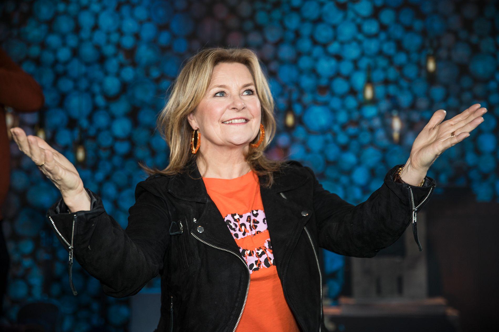 STERKT: En nyforelsket Elisabeth Andreassen er første hovedgjest i den nye sesongen av «Hver gang vi møtes», som starter i kveld.