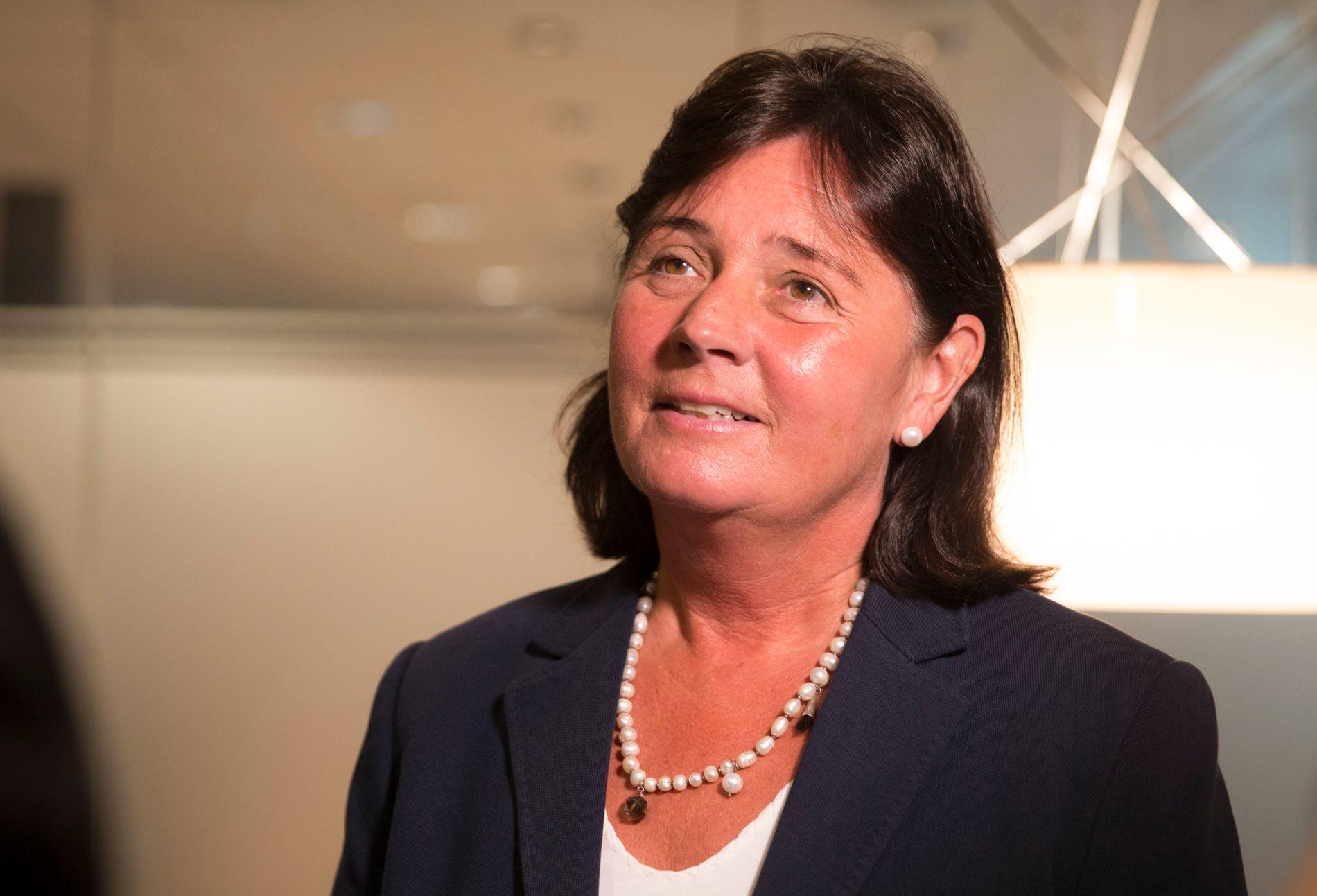 FØLGER MED: Direktør  Cecilie Daae i Direktoratet for Samfunnssikkerhet og Beredskap DSB.