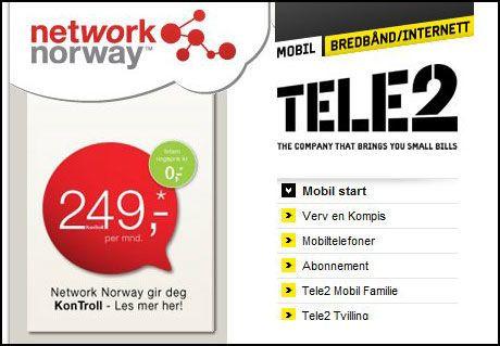 3G-LISENS: Network Norway og Tele2 har fått lisens for å bygge ut 3G-nett. Foto: Skjermbilde