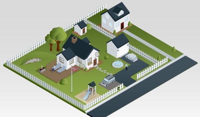 ENKLERE BYGGEREGLER: 1. juli trer nye, forenklede byggeregler i kraft, som betyr at du blant annet ikke lenger trenger å søke for å sette opp garasje eller uthus.