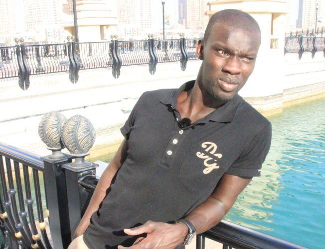 FORSVARSVETERAN: Pa-Modou Kah har funnet seg en ny klubb. Her er han avbildet da VG møtte ham i Qatar for to år siden.