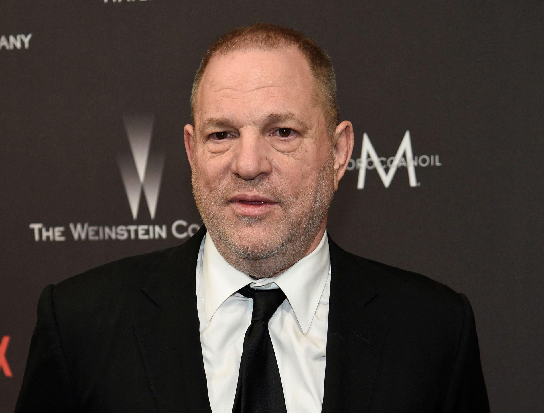 ANKLAGET FOR VOLDTEKT: Den tidligere Hollywood-toppen Harvey Weinstein.