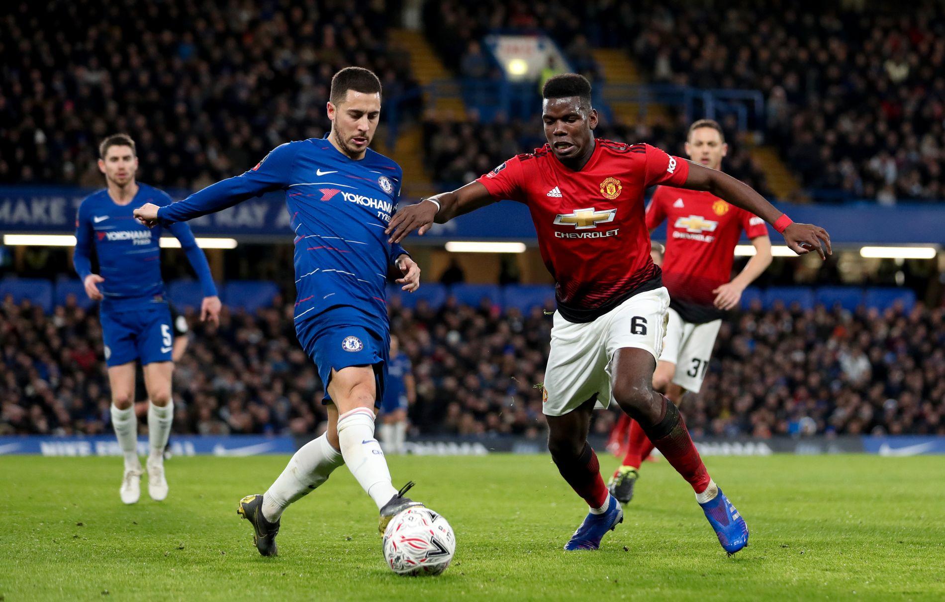 Mens Eden Hazard ble vraket da spillerne kåret det de mener er «Årets lag», ble det funnet plass til Paul Pogba. Det vekker reaksjoner.