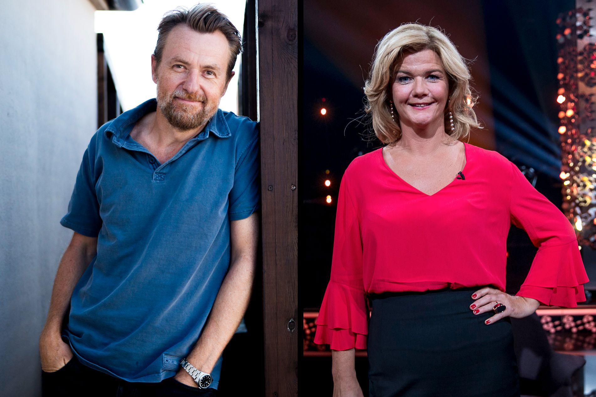KLARE TIL KAMP: Anne Lindmo har allerede «varmet opp» de siste to fredagene og klar for talkshow-krig mot sin gamle kollega Fredrik Skavlan som nå er på TV 2.
