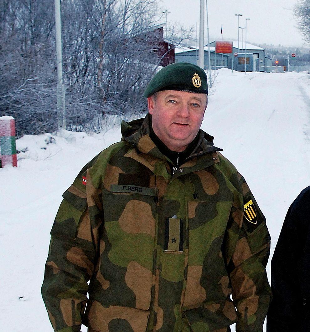 FENGSLET: Frode Berg er nå pensjonist, men jobbet som grenseinspektør i Sør-Varanger gjennom 25 år.